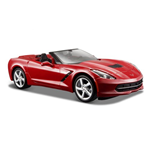 Maisto - 2014 Corvette Stingray Coupe 1:24 (Rossa / Blu)