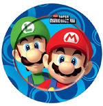 Super Mario Bros - Set 8 Piatti Cm 20