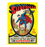 Superman - Comic Book (Magnete Metallo)