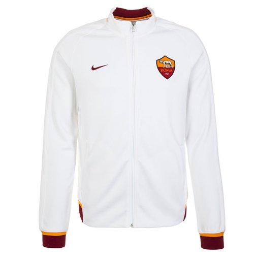 Giacca Roma 2015-2016 Nike Authentic N98 (bianca) da bambino