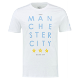 T-shirt Manchester City 2015-2016 Nike Squad Core Type (Bianco)