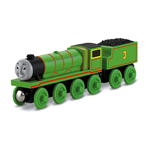 Mattel Y4072 - Thomas & Friends - Wooden Railway - Veicolo Henry Large