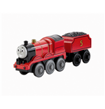 Mattel Y4111 - Thomas & Friends - Wooden Railway - Locomotiva James
