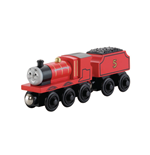 Mattel Y4070 - Thomas & Friends - Wooden Railway - Veicolo James Large