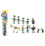 Plastoy 70371 - Lucky Luke - Tubo Personaggi (11 Figure)
