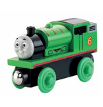 Mattel Y4082 - Thomas & Friends - Wooden Railway - Veicolo Percy Small