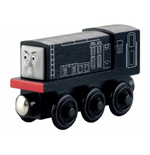 Mattel Y4079 - Thomas & Friends - Wooden Railway - Veicolo Diesel Small