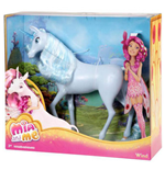 Mattel BFW40 - Mia And Me - Unicorno Wind