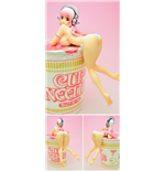 Super Sonico - Noodle Stopper Figure White Version (Altezza 13 Cm)