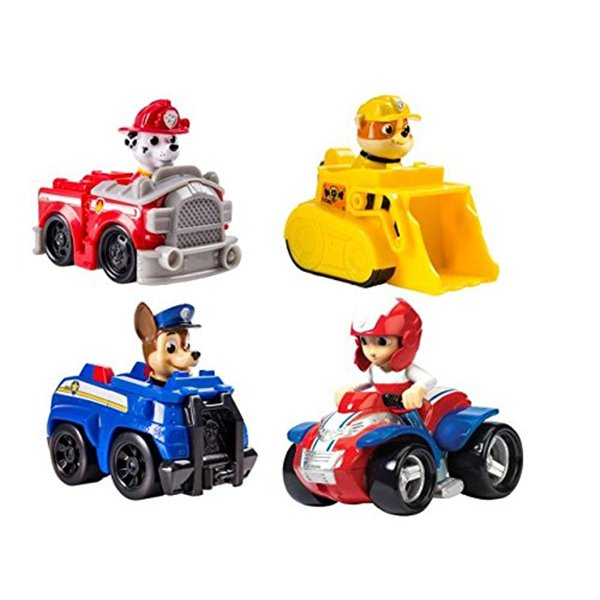 paw patrol rescue racer per soli 9 12 su merchandisingplaza italia. Black Bedroom Furniture Sets. Home Design Ideas