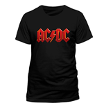 AC/DC - Red Logo (T-SHIRT Uomo )