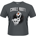 Frozen - Olaf Chill Out (T-SHIRT Uomo )