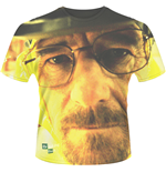 Breaking Bad - Walter Face (dye SUB) (T-SHIRT Uomo )