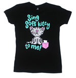 Big Bang Theory - Sing Soft Kitty To Me (T-SHIRT Donna )