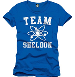 Big Bang Theory - The Team Sheldon (T-SHIRT Uomo )