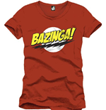 Big Bang Theory - BAZINGA! (T-SHIRT Uomo )