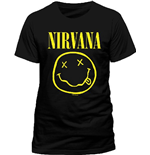 Nirvana - Smiley (T-SHIRT Uomo )