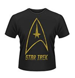Star Trek - Badge Logo (T-SHIRT Uomo )