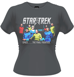 Star Trek - Final Frontier (T-SHIRT Donna )