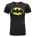 Batman - Distressed Logo (T-SHIRT Uomo )