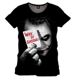 Batman - The Dark Knight - Why So SERIOUS? (T-SHIRT Uomo )