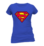 Superman - Logo (T-SHIRT Donna )