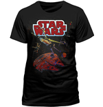 Star Wars - Xwing Gradient (T-SHIRT Uomo )