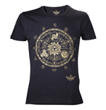 Nintendo - Legend Of Zelda Golden Map (T-SHIRT Uomo )