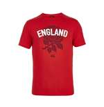 T-shirt / Maglietta Inghilterra rugby 2015-2016 (Rosso)