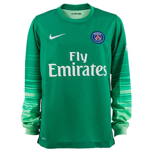Maglia portiere Paris Saint-Germain 2015-2016 Home Nike