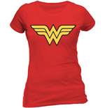 Wonder Woman - Logo (T-SHIRT Donna )