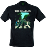 Beatles (THE) - Abbey Road & Logo (T-SHIRT Uomo )