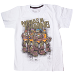 New Teenage Mutant Ninja Turtles - White Ninjas In Training (T-Shirt Bambino 0)