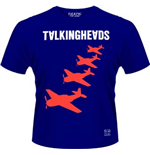 Talking Heads - Planes (T-SHIRT Uomo )