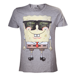 Spongebob - Grey Sunglasses (T-SHIRT Uomo )