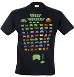 Space Invaders - Multi Coloured (T-SHIRT Uomo )
