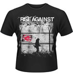 Rise Against - Borders (T-SHIRT Uomo )