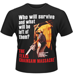 Texas Chainsaw Massacre (THE) - Poster (T-SHIRT Uomo )