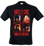 Motley Crue - Shout Wire (T-SHIRT Uomo )