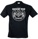 Machine Head - Classic Crest (T-SHIRT Uomo )