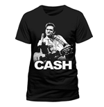 Johnny Cash - Finger Salutes (T-SHIRT Uomo )