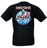 Iron Maiden - Euro Tour (T-SHIRT Uomo )