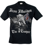 Iron Maiden - Sketched Trooper (T-SHIRT Uomo )