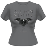 Game Of Thrones - All Men Must Die (T-SHIRT Donna )