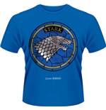 Game Of Thrones - House Stark (T-SHIRT Uomo )