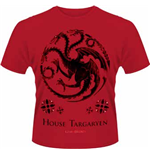 Game Of Thrones - House Of Targaryen (T-SHIRT Uomo )