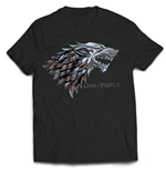 Game Of Thrones - Chrome Stark Sigil (T-SHIRT Uomo )