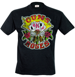 Guns N Roses - Cards Mens (T-SHIRT Uomo )