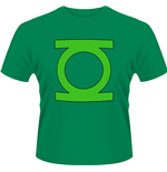 Green Lantern - Dc ORIGINALS-GREEN Lantern Logo (T-SHIRT Uomo )