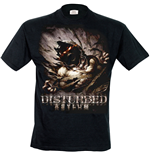 Disturbed - Asylum Mens (T-SHIRT Uomo )